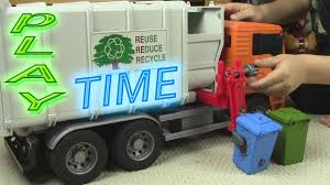 Garbage Truck Video - PLAYTIME FOR KIDS! - YouTube