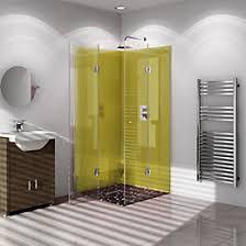 Geo Shower Panels by Bathroom Wall Panels Shower Panels Diy At B U0026q