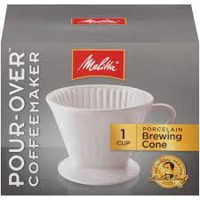 Melitta Pour Over 1 Cup Porcelain Coffee