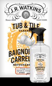 tub and tile cleaner j r watkins