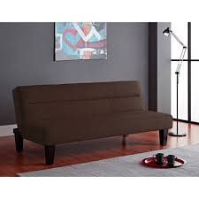kebo twin size futon sofa bed brown black blue gray couch sleeper