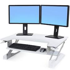 Kangaroo Standing Desk Dual Monitor by 1 Standing Desk Conversion Kit Review