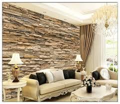 großhandel european style wohnzimmer sofa 3 d ziegel stein nahtlose große wandbild tapete tv einstellung wand papier wandtuch tongxunbei66 15 07