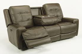 Flexsteel Vail Sofa Leather by Sofas