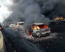 Many Feared Dead, Trapped As Tanker Explodes In Lagos [VIDEO ... Two Men In Critical Cdition After Being Severely Burned Tanker Tanker Truck Explosion Shuts Down Inrstate Truck Explosion In Italy Kills 2 Injures Up To 70 Seattle Wa Italian Premier Visits Victims Of Fiery Bologna Tanker Crash Lagos Prosecute Owner Driver Raw Fire Explosions Shut Down Highway Youtube Ball Two Shuts I70 Over 150 Dead As Overturned Fuel Explodes Pakistan 570 News Dozens