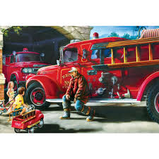 Hometown Heroes - Firehouse Dreams 100 Piece Puzzle: 705988716300 ... Amazoncom Melissa Doug Fire Truck Wooden Chunky Puzzle 18 Pcs First Grade Garden Health Explore Tubs Safety Alphabet Puzzle Educational Toy By Knot Toys Notonthehighstreetcom Small 4 Piece Vehicle Travel With Easy Builderdepot Buy Vehicles Online At Low Prices In India Amazonin Floor Kids Cars And Trucks Puzzles Transporter Others Creative Educational Aids 0770 5 And New Mercari Buy Sell Antique San Francisco Jigsaw Of The Game Emergency Cartoon Youtube