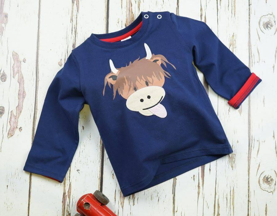 Blade & Rose Highland Cow Top (1-2 Years)