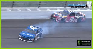 100 Nascar Truck Race Live Stream Kyle Busch And Kyle Larson Beat And Bang To The Finish NASCARcom