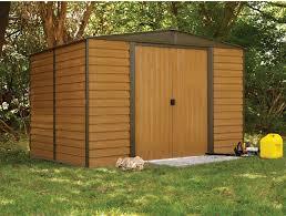 arrow shed woodridge 10 x 12 ft steel storage shed hayneedle