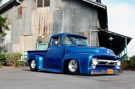 100 Build Ford Truck This Slammed 1956 F100 Is A OneMan Backyard Have You