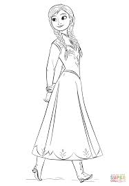 Click The Anna From Frozen Movie Coloring Pages To View Printable
