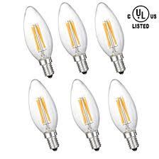 40 watt dimmable candelabra small base soft white led bulbs