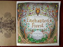 Enchanted Forest Page The Coloring Addict
