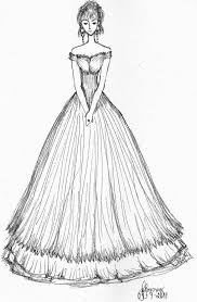 Best Prom Gown Sketches Ideas