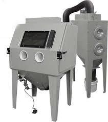 Abrasive Blast Cabinet Vacuum by Magnum 4436 Suction Blast Cabinets 600 Cfm Reclaimer M2 Cartridge