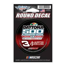 100 Austin Truck Accessories Dillon WinCraft 2018 Daytona 500 Champion 3 Round Decal