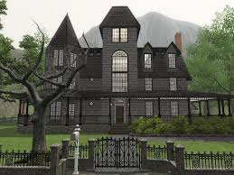 Sims 3 Big House Floor Plans by The Sims Haus Of Schwartz Haunted House Megan Chiaroni