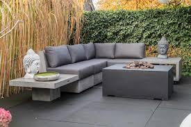 ventaris novum sofa betonlounge sitzgruppe 3 teilig
