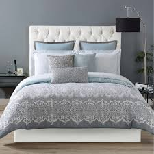 Christian Siriano Ombre Lace Printed 3 Piece Duvet Set Free