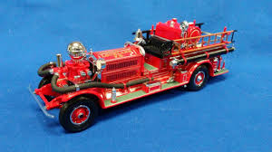 100 Matchbox Fire Trucks Buffalo Road Imports 1930 Ahrens Fox Fire Truck FIRE LADDER TRUCKS