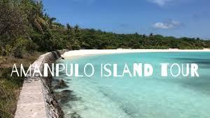 100 Amanpolo Amanpulo Island Tour YouTube