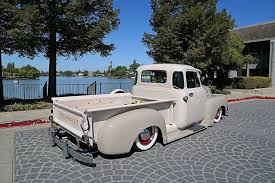 100 1952 Chevy Panel Truck Mike Cajios 3100 Time Bomb