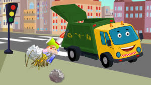 100 Garbage Truck Video Youtube Garbage Truck Kids Video Car Cartoons Kids YouTube