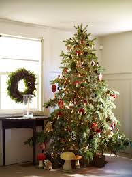 Pre Lighted Christmas Trees by Ideas Enchanting Pre Lit Christmas Tree Clearance On Beige Area