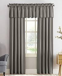 Sun Zero Grant Solid Room Darkening Poletop Window Treatment Collection