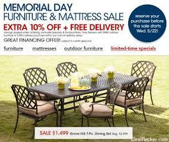 Macys Outdoor Dining Sets by Macy U0027s Memorial Day Furniture U0026 Mattress Sale Coupons U0026 Deals Blog