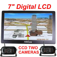 7 Inch GPS Wireless Backup Round Camera Color Monitor RV Truck ... Amazoncom Digital Wireless Rear View Backup Camera System 7 Lcd Safety Rvs770614 2 Toguard Electronics Colimited Rvspickup For Pickup Trucks Car Reversing 5 Inch Ch Commercial Cheap For Cars Find Rvs770614213 Two Setup With Wiring Up House Diagram Symbols 9 Digital Rear View Backup Reverse Camera System Safety For Truck One With Trailer Tow Quick Reverse Cameramonitor Systems Federal Signal