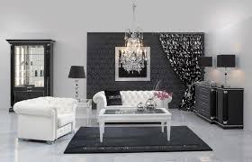 canapé baroque moderne design interieur salon moderne blanc noir gris style néo baroque