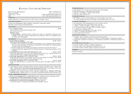 Amusing Resume Samples Multiple Pages With Additional 5 Page Ses
