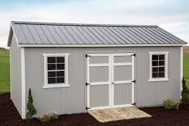 Portable Generator Shed Plans by 12x20 Painted Cottage Byler Barns