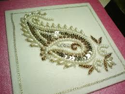 HAND EMBROIDERY FROM SADALAS Aari Work Embroidered Saree