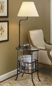 Wood End Table With Lamp Attached by End Tables With Lamps Attached Table Pinterest Ottoman Stool