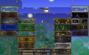 Terraria Multiplayer House by Heartage