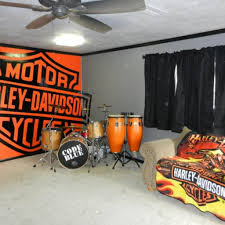 Some Harley Davidson Home Decor Ideas Design And For