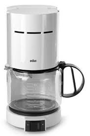 Braun KF420W 10 Cup Coffeemaker W Gold Screen Filter White KF