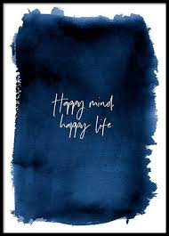 happy mind poster in the posters prints sizes