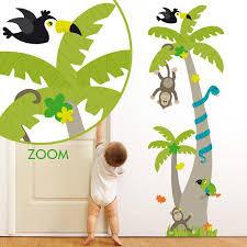 stickers jungle chambre bébé stickers arbre animaux jungle stickers malin