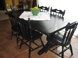 European Paint Finishes: ~ Another Black Rustic Farmhouse Set ~ Ding Table 6 Chairs New 5 Piece Table Set 4 Chairs Glass Metal Kitchen Room Fniture Kitchen Simple Ding And Chair Set Black Incredible Size Medida Para Mesa Em Http And Ikea Clearance White Gloss Lenoir Brasilia Style Senarai Harga Homez Solid Wood C 38 Ww T Small Extending Tables Unique Elegant Square New Transitional 7pc Deep Finish Uph Seat Grand Mahogany Hard 68 Seater Kincaid Mill House With Monaco Rectangular Outdoor Patio Office Computer Chair Cover Task Slipcover