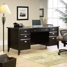 Staples Sauder Edgewater Executive Desk by Shoal Creek Executive Office Desk 408920 Sauder