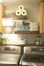 Best 33 Rustic Laundry Room Shelving Ideas