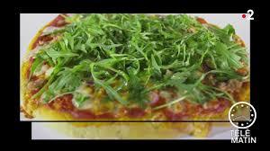 telematin recettes cuisine replay télématin télématin gourmand pizza légère au pesto d