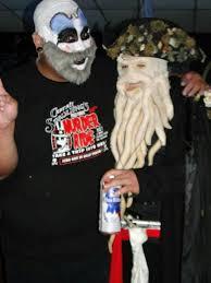 Halloween Town Burbank Ca Hou by My Captin Spaulding Makeup Skull Cap And Makeup And Beard Shirt