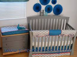 Aqua And Coral Crib Bedding by 175 Best Aqua Blue In The Nursery Images On Pinterest Aqua Blue