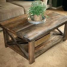 Diy Rustic End Tables Coffee Table With Wheels Medium Size Of