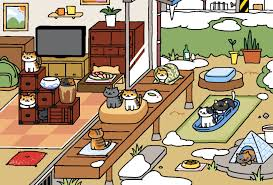 Normal Garden Winter Neko Atsume