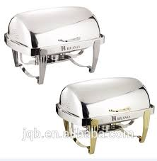 Wholesale High Quality Aluminum Chafing Dish Roll Top